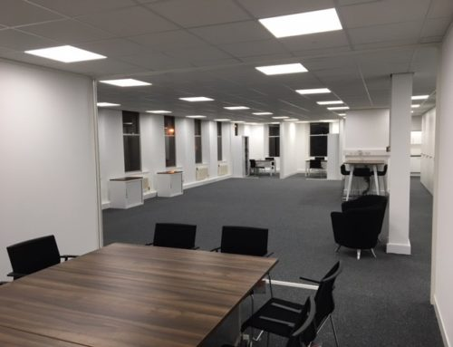 FRP – Preston – LED lighting, containment and small power works.